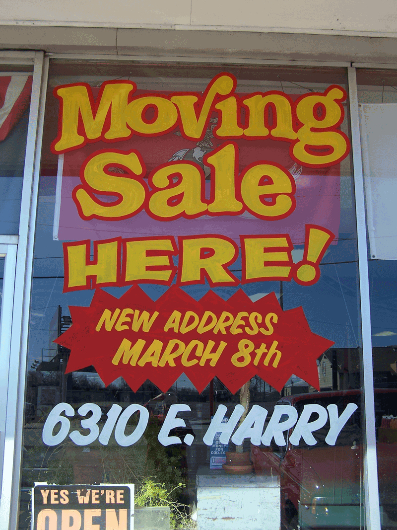 moving sale resized 2 custom quik signs